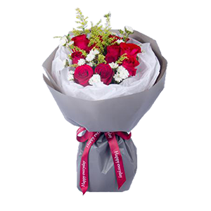 鮮花/一往情深:11枝精品紅玫瑰 花 語:疼愛你,保護你,一往情深