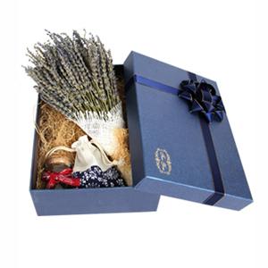 鲜花/约定: 薰衣草永生花,许愿瓶,手工香袋(礼盒中有少量花