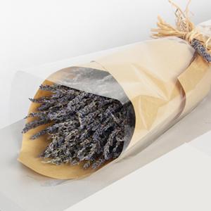鲜花/薰衣草恋人: 匠心设计,英国蓝薰衣草花盒(总部顺丰快递发货)