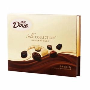 巧克力/德芙精心之選: 德芙精心之選多種口味巧克力禮盒裝140g,16