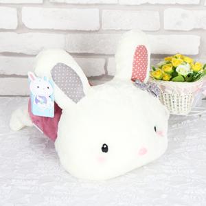 毛絨玩具/乖乖兔: 水晶超柔布料,高檔PP棉填充  [包 裝]: