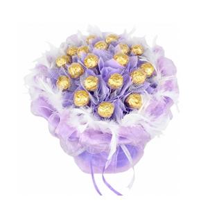 巧克力/伊甸園之戀: 19只巧克力,金莎巧克力包裝  [包 裝]: