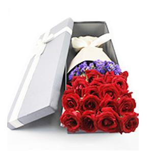 鮮花/愛的旅程:21枝紅玫瑰 花 語:見山是山,遇水是水,唯獨遇見