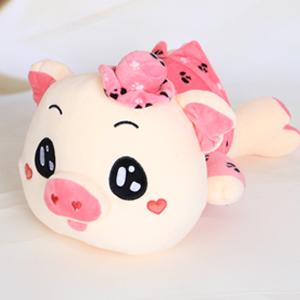 毛绒玩具/佩佩猪(粉色): 纯棉亲肤绒布,高弹pp面填充  [包 装]: