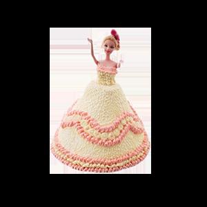 蛋糕/【芭比蛋糕】最是温柔:鲜奶鸡蛋胚+芭比造型 祝 愿:永远爱你,我的宝贝!