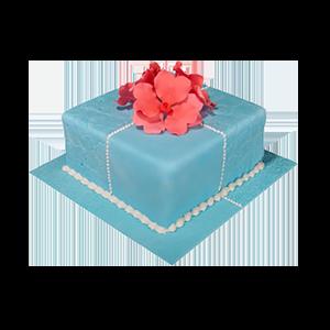 蛋糕/【翻糖蛋糕】爱不是偶然:鲜奶鸡蛋胚+新鲜翻糖别致造型 祝 愿:感恩你的陪伴