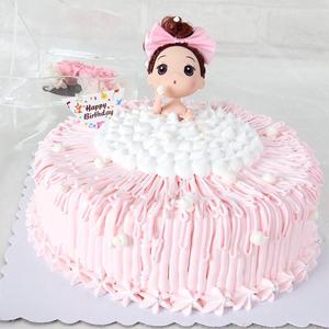 蛋糕/梦幻芭比: 祝 愿: 保 存:0-4°C保存1天,4小时内