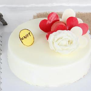 蛋糕/天生丽质:鲜奶鸡蛋胚+ 祝 愿:回眸一笑,温暖如初,愿你安好