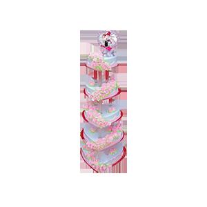 蛋糕/爱的殿堂:美味奶油+浪漫装饰 祝 愿:花开连理,温馨美满