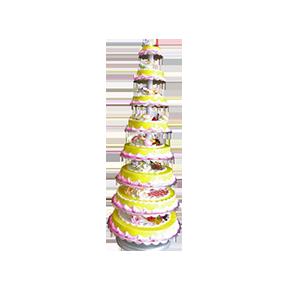 蛋糕/爱的味道:优质鲜奶+果酱淋面 祝 愿:执子之手,与子偕老