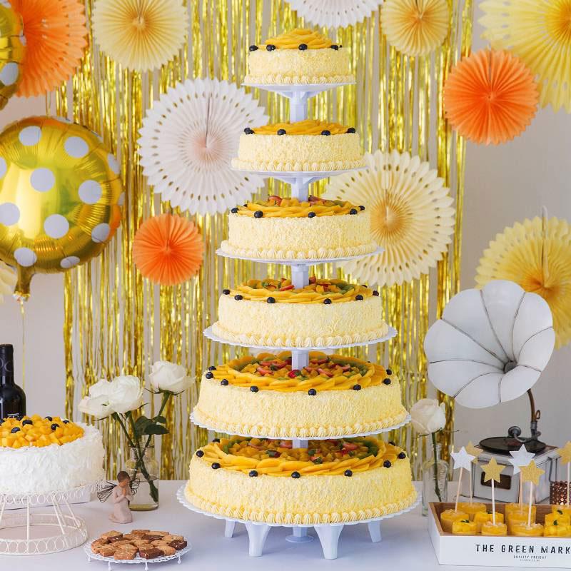 蛋糕/幸福城堡:新鲜时令水果,优质淡奶油,先做蛋糕胚 祝 愿:我们