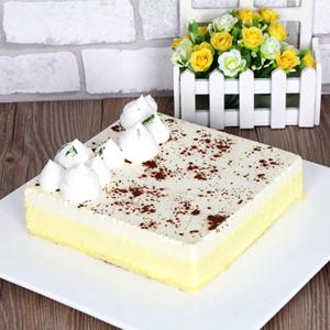 蛋糕/宽容的美好:芝士蛋糕,新鲜奶油,层层奶酪 祝 愿:我知道我一点