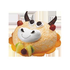 蛋糕/牛牛:优质鲜奶,水果装饰,创意造型 祝 愿:活泼可爱,欢