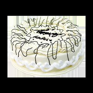 蛋糕/維多利亞的祝福:冰淇淋蛋糕 祝 愿:潔凈純白的心靈,來自內心的祝福