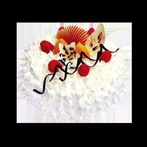 蛋糕/冰山火焰:冰淇淋蛋糕 祝 愿:外表冷酷,内心火热,融化在爱情