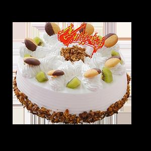 蛋糕/甜心派:冰淇淋蛋糕 祝 愿:爱你的笑容,你的小可爱 保