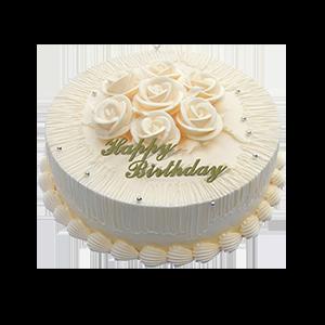 蛋糕/温馨一刻:冰淇淋蛋糕 祝 愿:纯白花嫁 保 存:0-4°C